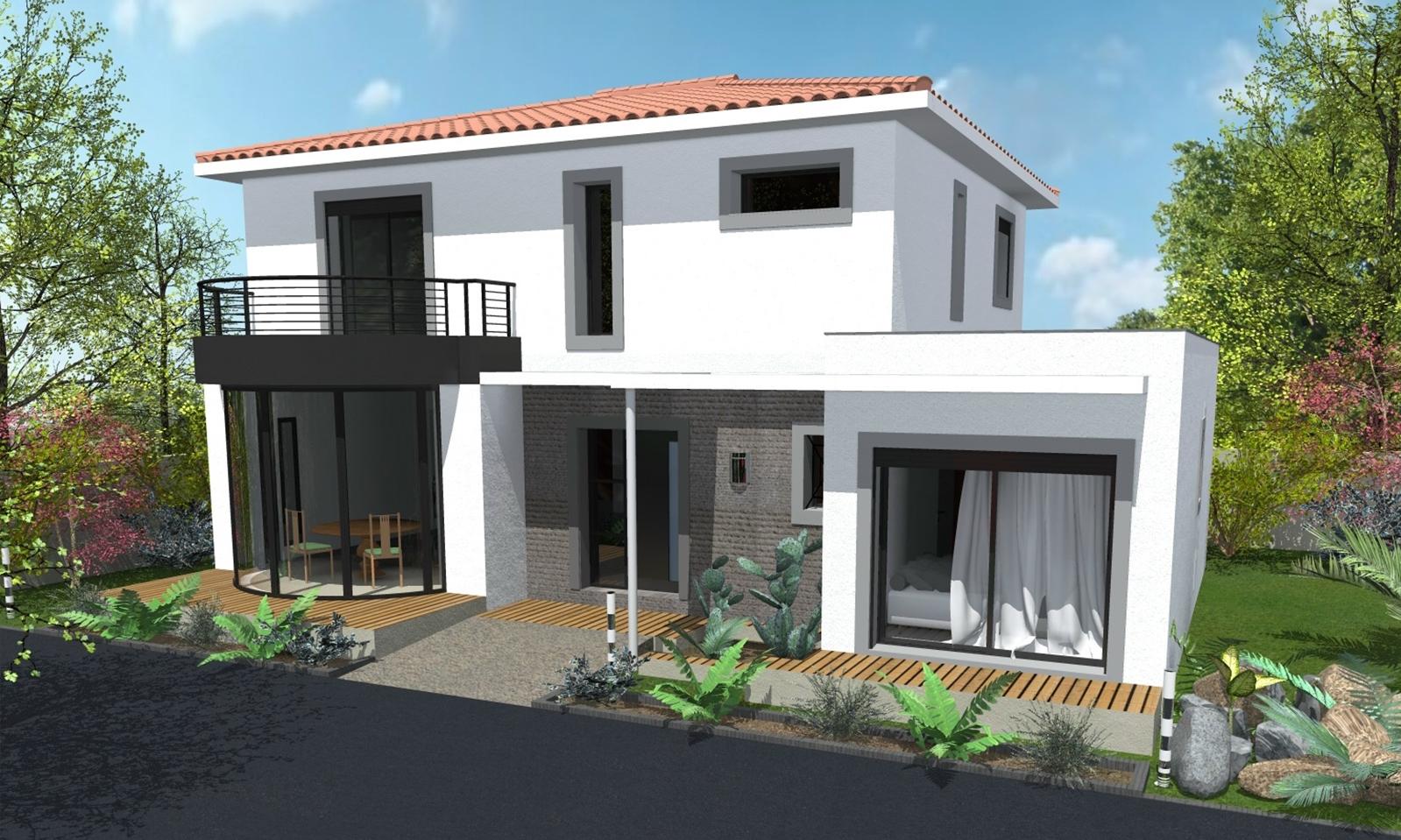 Nouveaux mod les de maisons par le constructeur atm lumicene for Modele maison constructeur