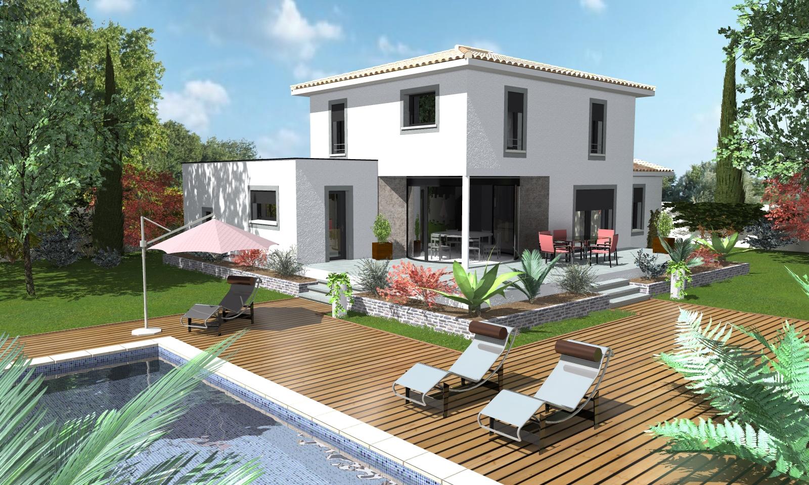 Nouveaux mod les de maisons par le constructeur atm lumicene for Modele maison nicolas