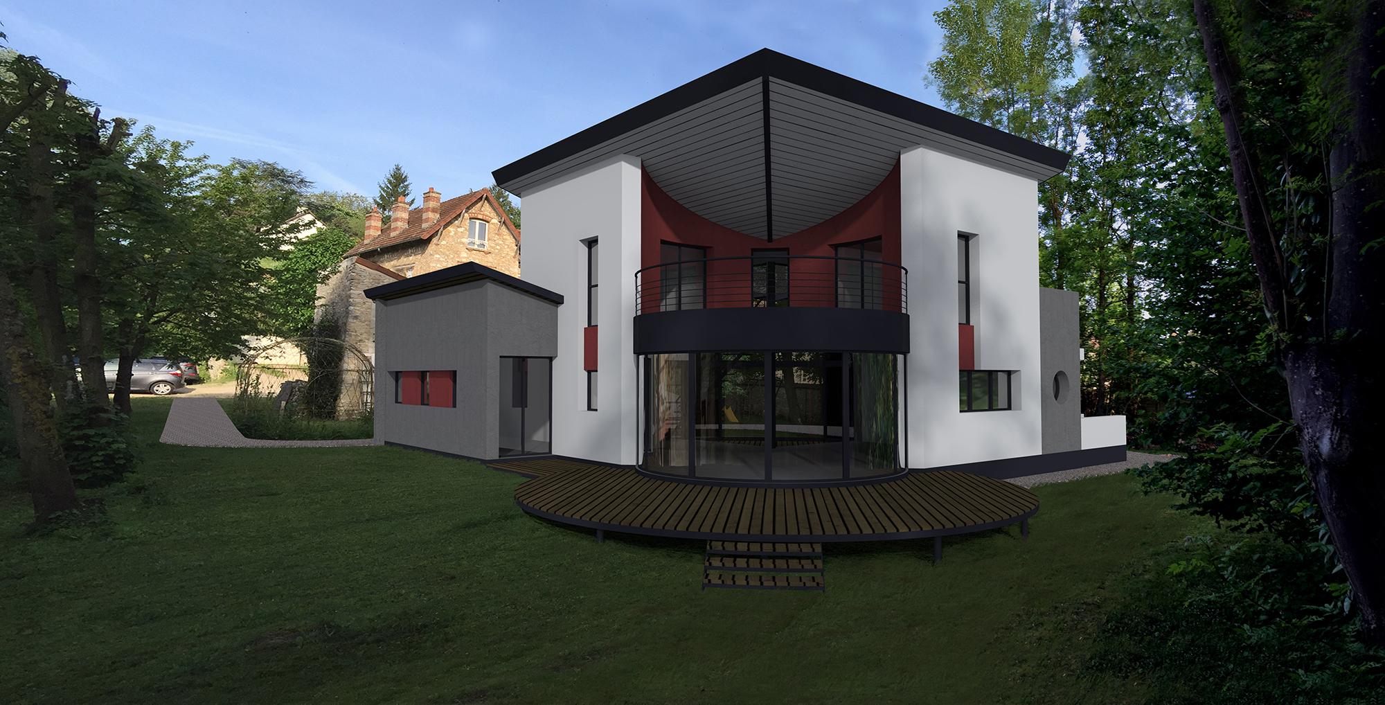 Projet r gion parisienne for Architecte region parisienne