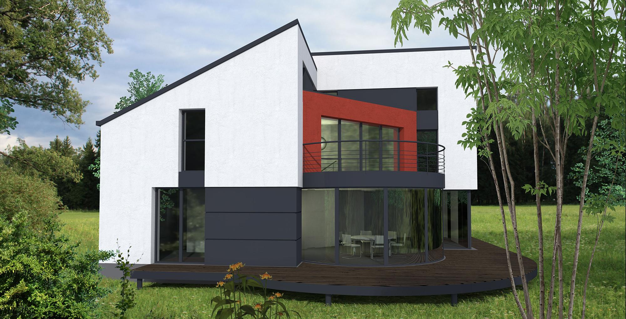 Faire construire sa maison porte de versailles maison moderne - Une maison un jardin berthenay versailles ...