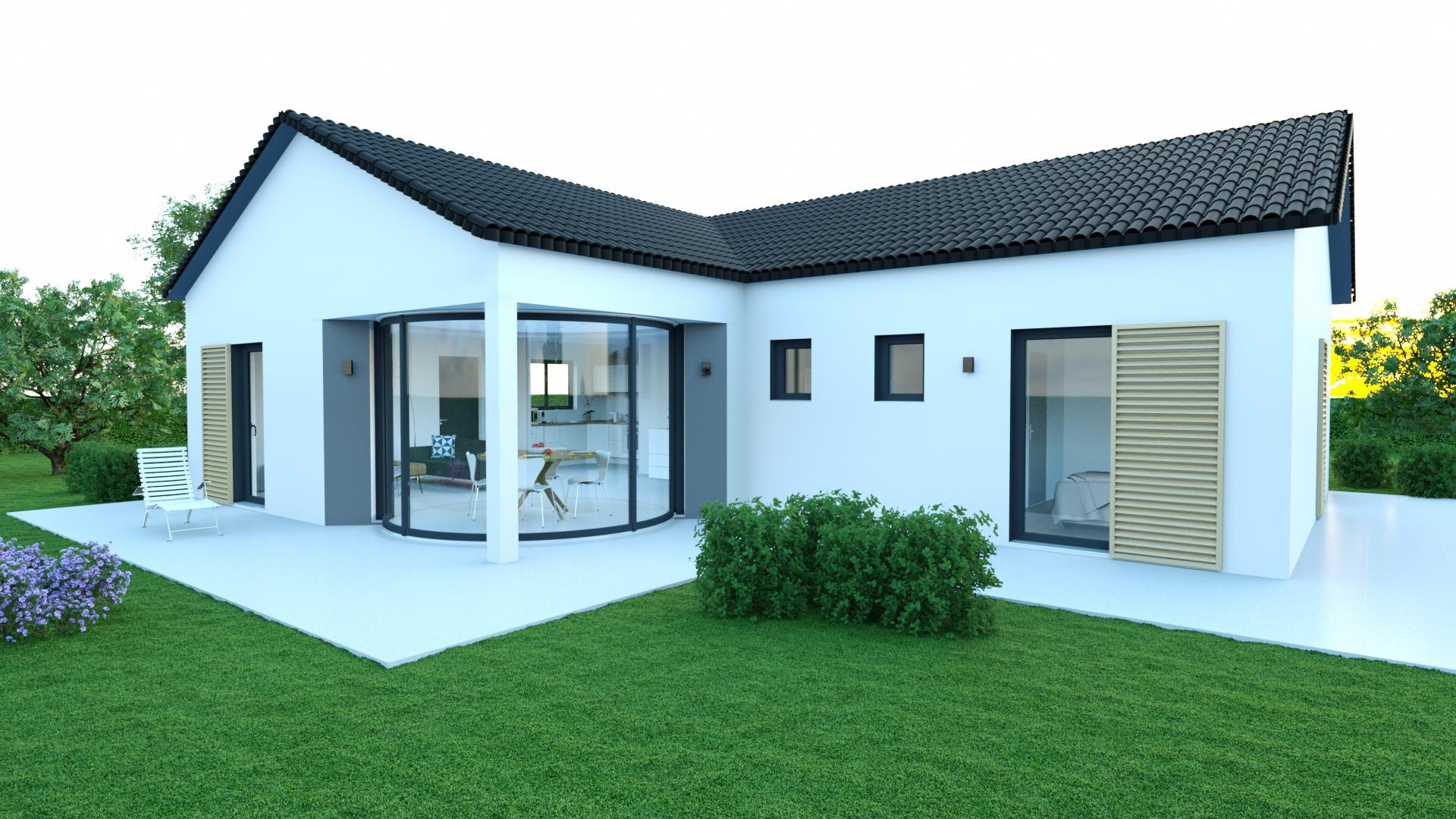 Style De Veranda Moderne models of houses - lumicene